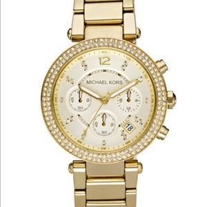 Michael Kors Ladies Gold Watch